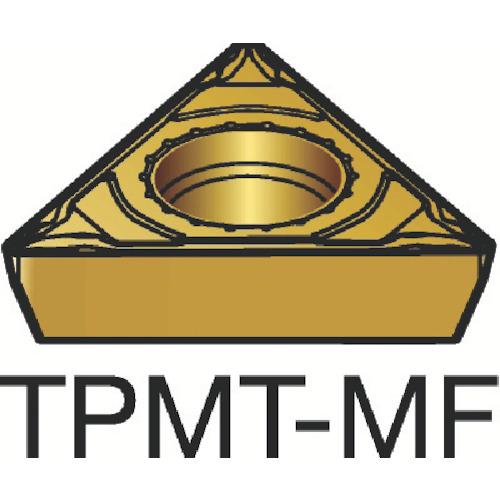 サンドビック コロターン111 旋削用ポジ・チップ 2015 10個 TPMT 09 02 04-MF:2015