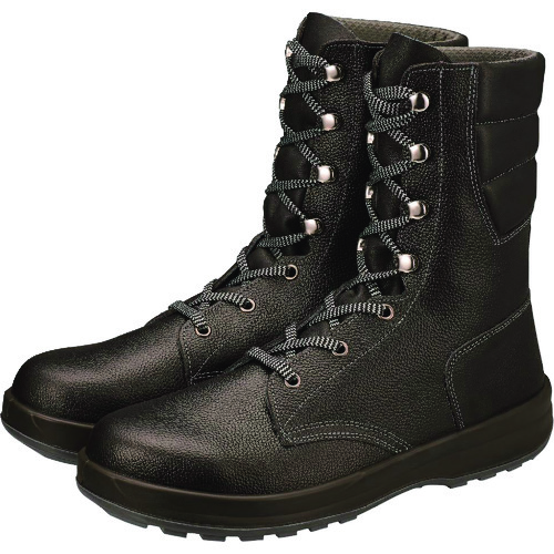 シモン 安全靴 長編上靴 SS33黒 25.0cm SS33-25.0