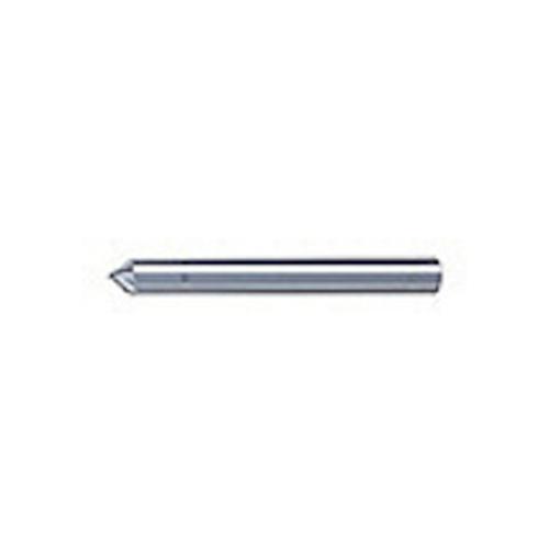 ユニオンツール 超硬エンドミル テーパ φ1×刃長3.5X片角45° SV2080