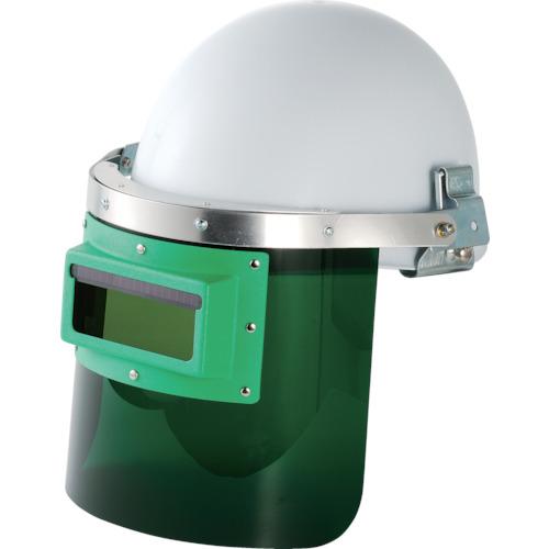 リケン 自動遮光溶接面 防災面型(ヘルメット取付タイプ) GM-HS2