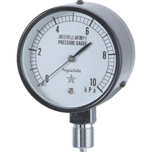 右下 微圧計 AT3/8×75×25KPA CA311-211-25KP