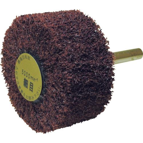 ヤナセ ユニロン軸付フラップ 外径60×軸径6×軸長40×幅25mm 320# 10個 NF6025S:320