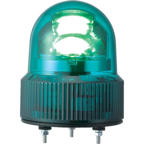 パトライト SKHE型 LED回転灯 Φ118 オールプラスチックタイプ SKHE-100-G