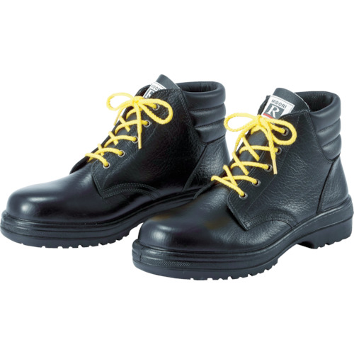 ミドリ安全 静電中編上靴 26.0cm RT920S-26.0