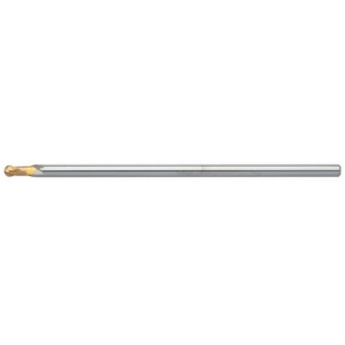 ユニオンツール 超硬エンドミル ボール R2×刃長6 HBL2040-1000