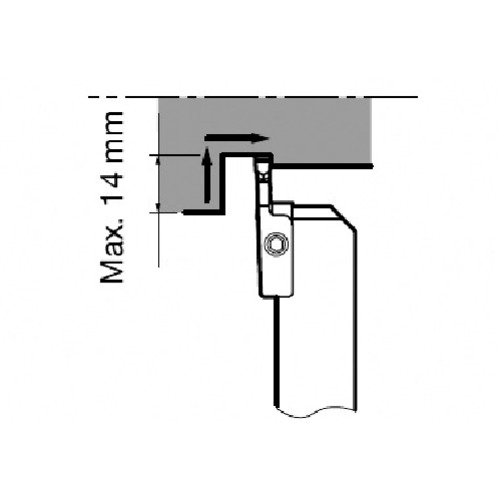 タンガロイ 外径用TACバイト CGWSR2525-FLR5GP