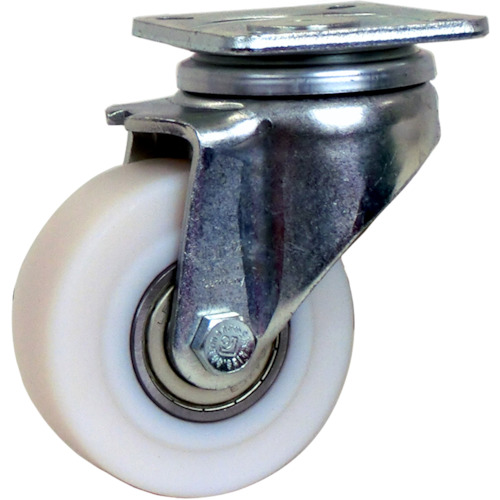 シシク 低床重荷重用キャスター 自在 100径 GSPO車輪 LH-GSPO-100K-1