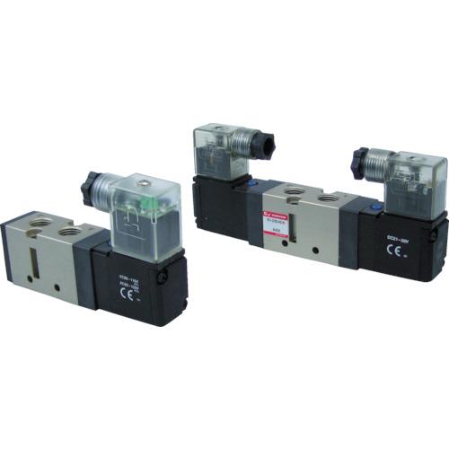 CONVUM 5ポート電磁弁 24V DIN形ターミナル CSV210-4DS