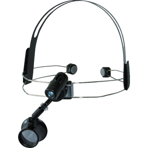 リーフ ワイヤーヘッドライト付アイルーペ WHE-50LED