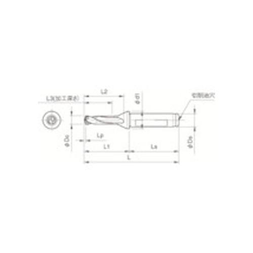 京セラ ドリル用ホルダ SF16-DRC125M-3