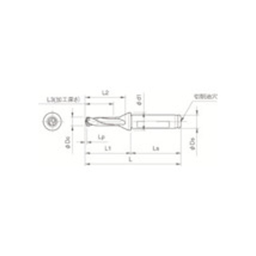 京セラ ドリル用ホルダ SF16-DRC140M-3