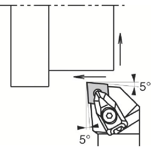 京セラ 外径加工用ホルダ DCLNL2525M-12