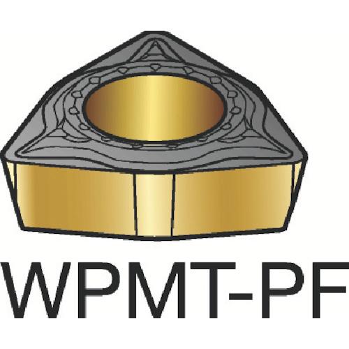 サンドビック コロターン111 旋削用ポジ・チップ 1515 10個 WPMT 02 01 02-PF:1515