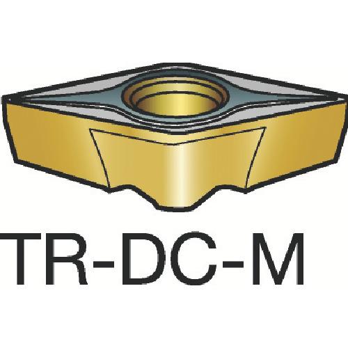 サンドビック コロターンTR 旋削用ポジ・チップ 1125 10個 TR-DC1308-M:1125