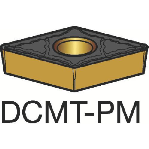 サンドビック コロターン107 旋削用ポジ・チップ 1515 10個 DCMT 07 02 08-PM:1515