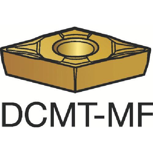 サンドビック コロターン107 旋削用ポジ・チップ 1105 10個 DCMT 07 02 02-MF:1105