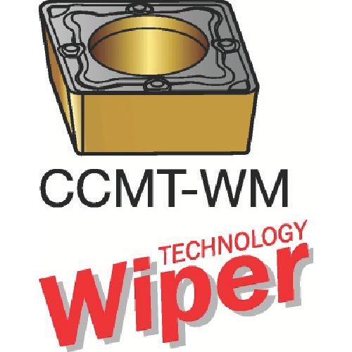 サンドビック コロターン107 旋削用ポジ・チップ 1115 10個 CCMT 09 T3 04-WM:1115