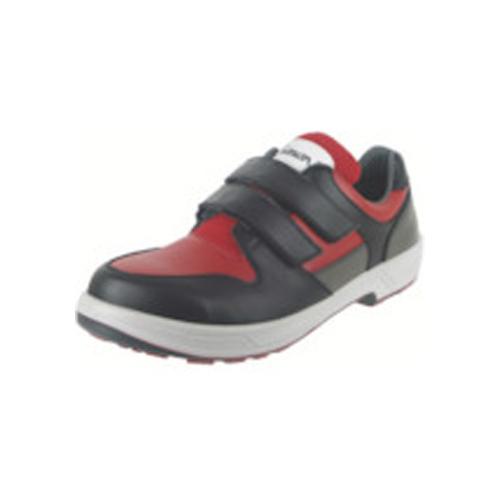 シモン トリセオシリーズ 短靴 赤/黒 25.0cm 8518RED/BK-25.0