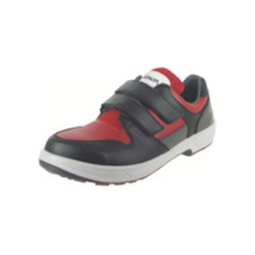 シモン トリセオシリーズ 短靴 赤/黒 27.5cm 8518RED/BK-27.5