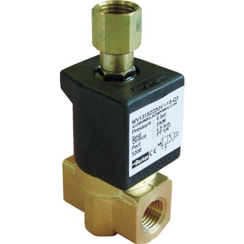 クロダ 流体制御用直動形3ポートバルブ WV131S222LV-I-1S-C2-11W