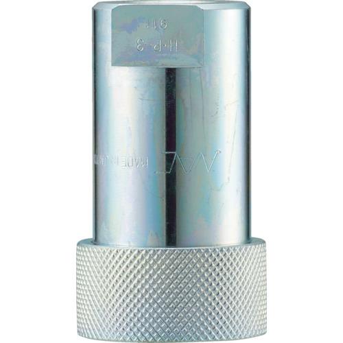 ナック クイックカップリング HP型 特殊鋼製 高圧タイプ オネジ取付用 両路開閉型 CHP10S