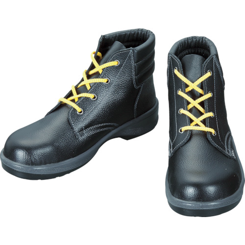 シモン 静電安全靴 編上靴 7522黒静電靴 27.5cm 7522S-27.5
