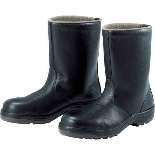 ミドリ安全 ウレタン2層底 安全靴 半長靴 CF140 23.5CM CF140-23.5