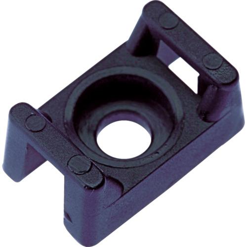 パンドウイット タイマウント 耐候性ポリプロピレン黒 (1000個入) TM2S8-M100