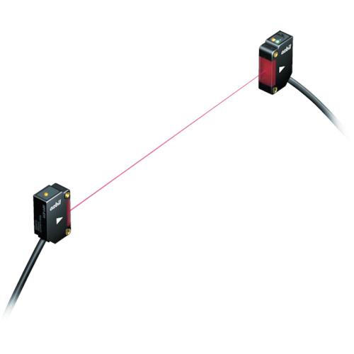 アズビル アンプ内蔵光電センサ 透過形 検出距離30m NPN出力 HP7-T41
