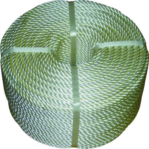 【数量は多】 36-7407:工具屋「まいど!」 JISナイロンロープ 12.0mm×200m 高木-DIY・工具
