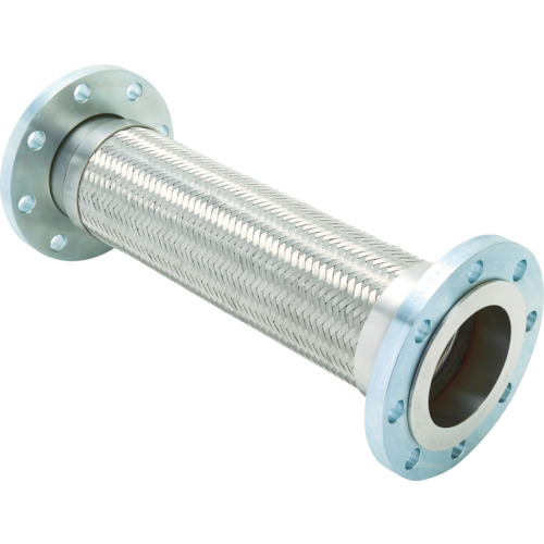ゼンシン フレキシブルメタルホース(フランジ型) 呼び径40A(1 1/2インチ) Z-4000-40-300