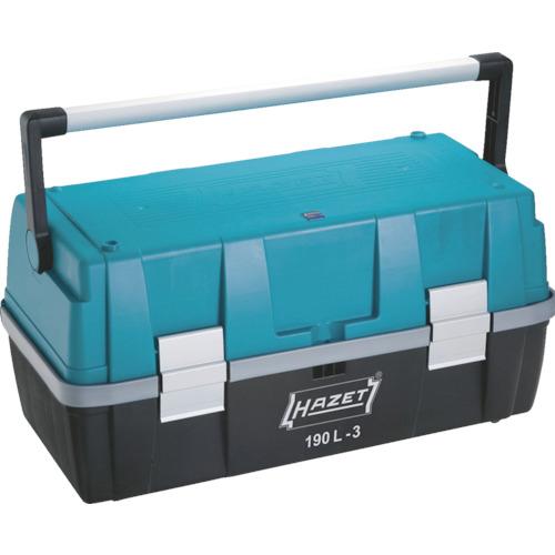 HAZET パーツケース付ツールボックス 190L-3