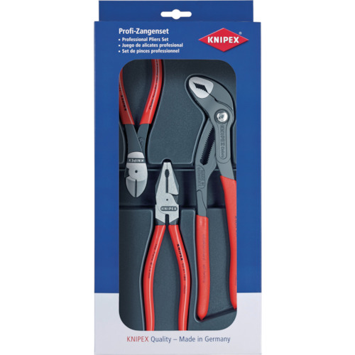 KNIPEX プライヤーセット 002010
