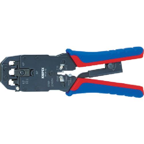 KNIPEX プラグ用圧着ペンチ 200mm 9751-12