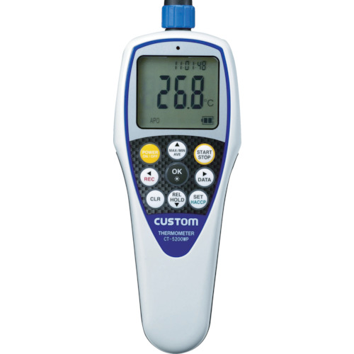 カスタム 防水デジタル温度計 CT-5200WP