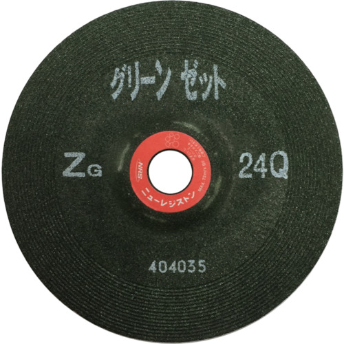 NRS グリーンゼット 180×6×22 ZG36Q 25枚 GNZ1806-ZG36Q