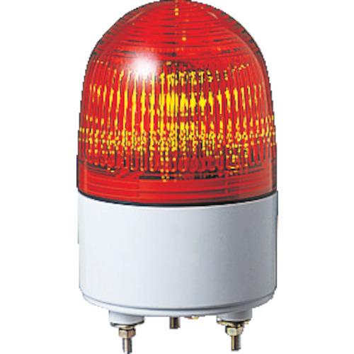 パトライト 小型LED表示灯 色:赤 PES-100A-R