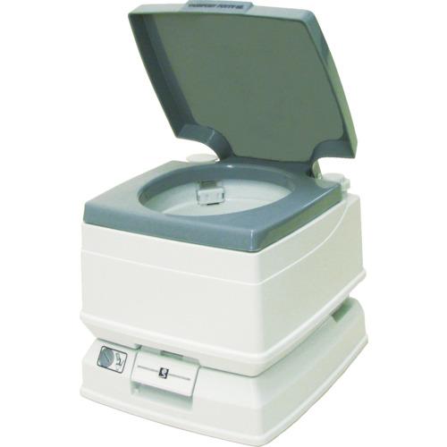 【個別送料2000円】【直送品】アクト石原 ポータブルトイレ 水洗タイプ8L P-8L
