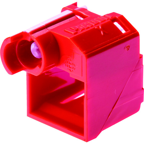 PSL-DCPLRX-C PSL-DCPLRX-C パンドウイット 100個入り パッチコードロック 赤