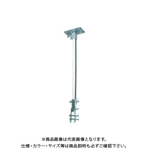 【COOL NAVI 2020】TRUSCO 45CM全閉式工場扇 ゼフィール ハンガーアングル(メッキ) TFZP-H-M
