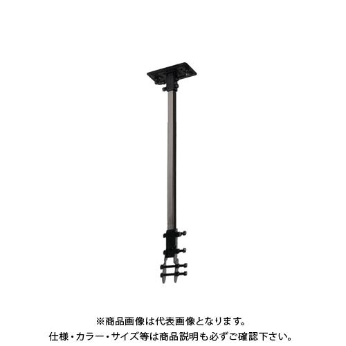 【COOL NAVI 2020】TRUSCO 45CM全閉式工場扇 ゼフィール ハンガーアングル(ブラック) TFZP-H-BK