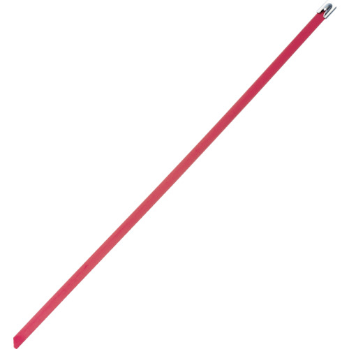 パンドウイット MLTタイプ フルコーティングステンレススチールバンド SUS316 赤 幅8.1mm 長さ521mm 50本入り MLTFC6H-LP316RD MLTFC6H-LP316RD