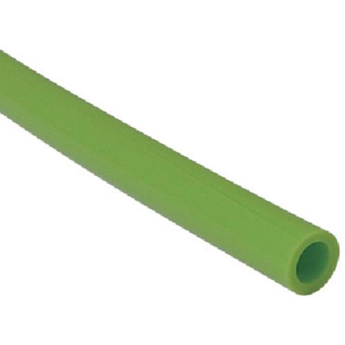 チヨダ TEタッチチューブ 10mm/100m ライトグリーン TE-10-100 LG