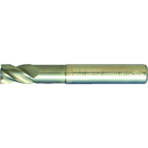 マパール OptiMill-HPC-CR 不等分割・不等リード4枚刃 ラジアス SCM360J-0500Z04R-R0030HA-HP213