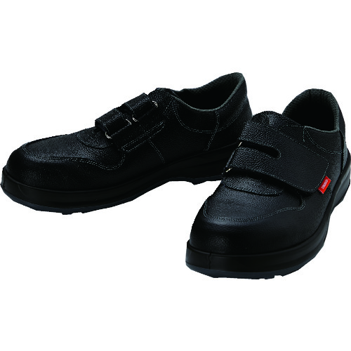 TRUSCO 安全靴 短靴マジック式 JIS規格品 25.5cm TRSS18A-255