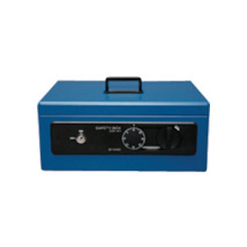 IRIS 558234 手提げ金庫 SBX-A4 ブルー SBX-A4-BL