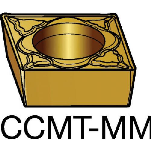 サンドビック コロターン107 旋削用ポジ・チップ 2015 10個 CCMT 09 T3 08-MM:2015