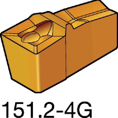 サンドビック T-Max Q-カット 突切り・溝入れチップ H13A 10個 N151.3-A094-25-4G:H13A