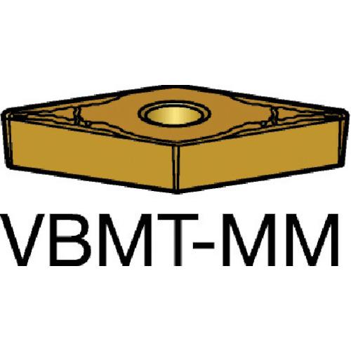 サンドビック コロターン107 旋削用ポジ・チップ 2015 10個 VBMT 16 04 04-MM:2015