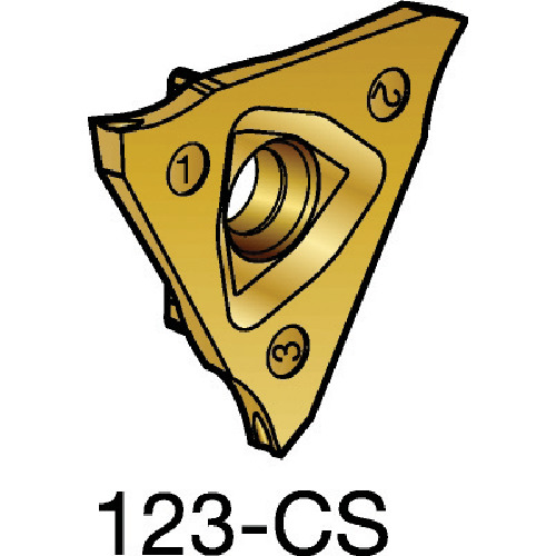 サンドビック コロカット2 突切り・溝入れチップ 1125 10個 R123G2-0300-1501-CS:1125